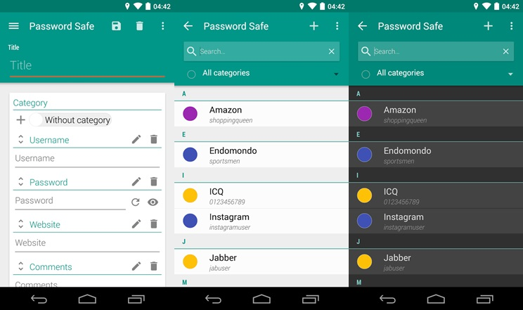 Password Safe – Free with In-app Purchases