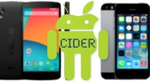 cider to run iphone apps on android