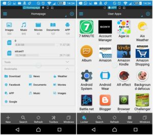 ES File Explorer is our current favorite Android file explorer.