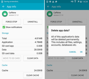 Clearing an applications cache can often solve the 'app has stopped' problem.