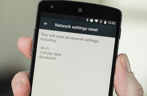 New marshmallow Reset Network Settings option is a great tool.- ApkFact.Com