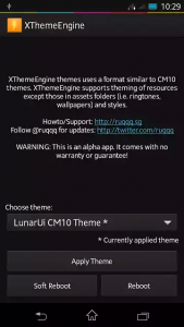 THEME ANY ROOTED ANDROID WITH XTHEMEENGINE screenshot (2)