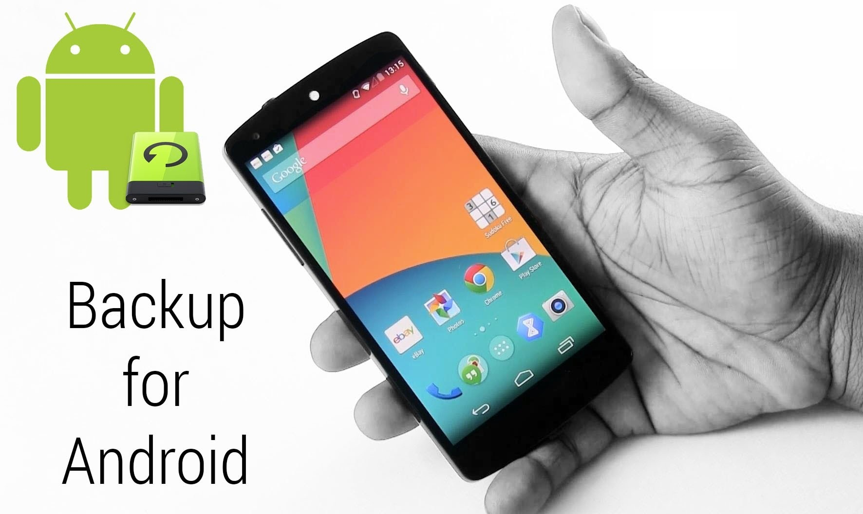 How to Backup Android Data and keep safe Everything 1