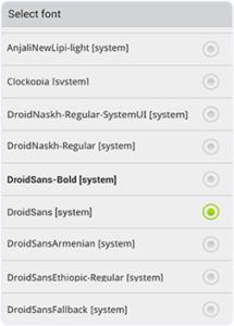GOlauncher-fonts-select-option