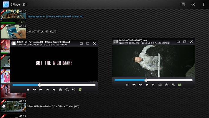 GPlayer-screenshot