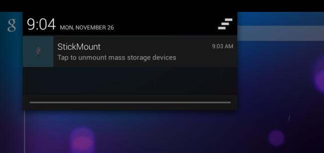 reject stickmount-notification