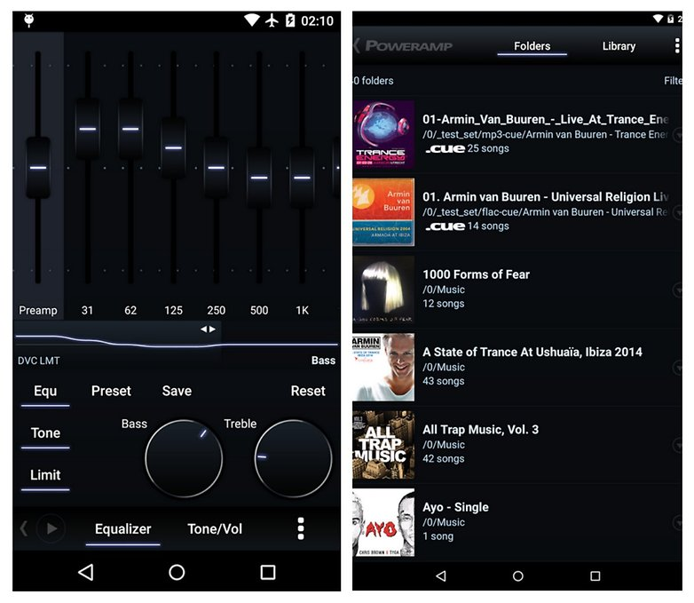 android poweramp app
