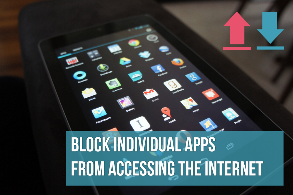 How to Controls allow or block Apps Internet Access on android 6