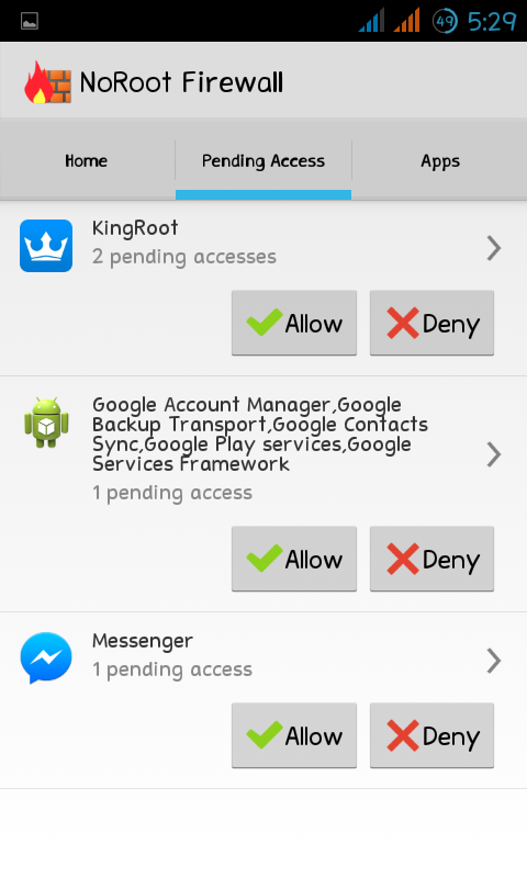 NoRoot Firewall - Controls Apps Internet Access 6