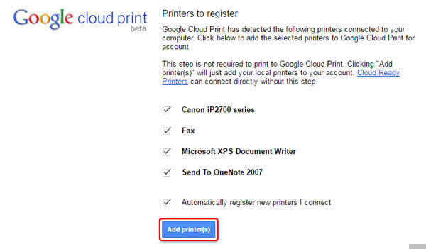 How to Print Files From Android Device using Cloud Print app