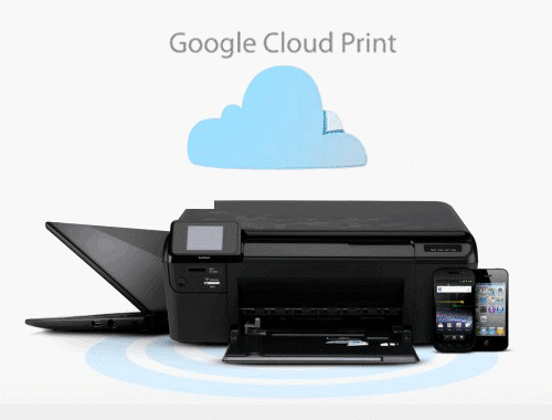 How to Print Files From Android Device using Cloud Print app 4