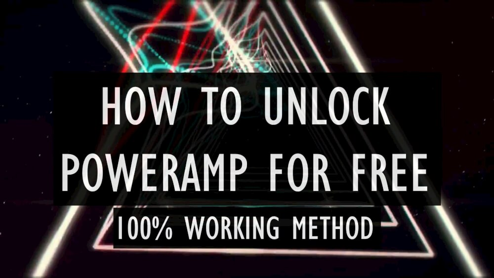 How to Unlock PowerAMP full version with Lucky Patcher 2