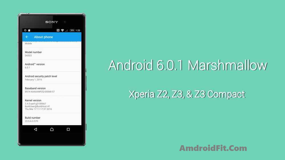How to Manually Install Official Marshmallow Firmware on Xperia Z2, Z3 and Z3 Compact 4