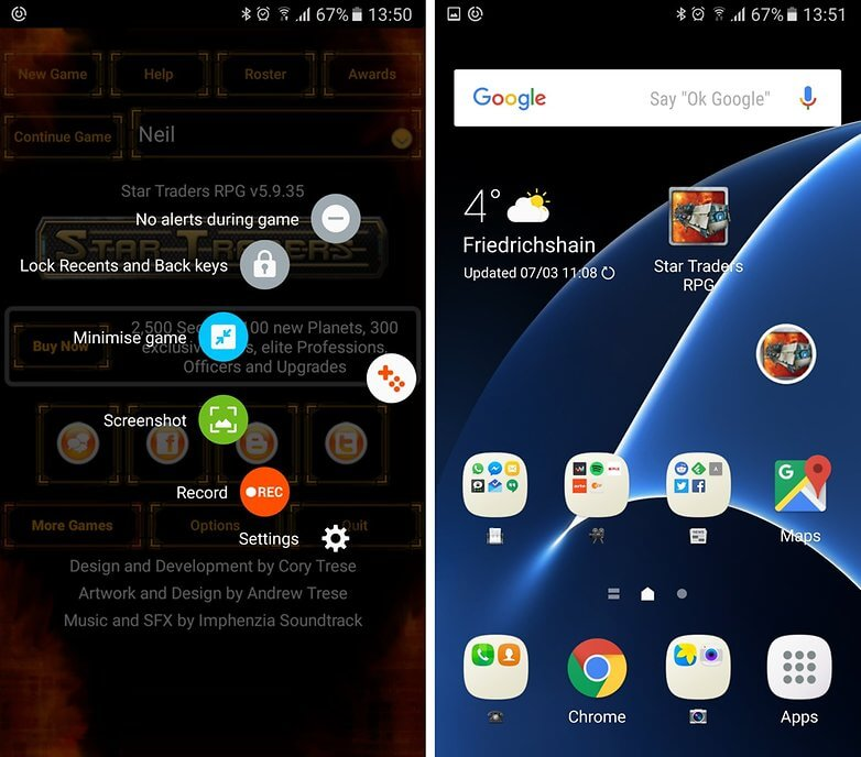 Samsung galaxy_s7_game_launcher - tips and tricks