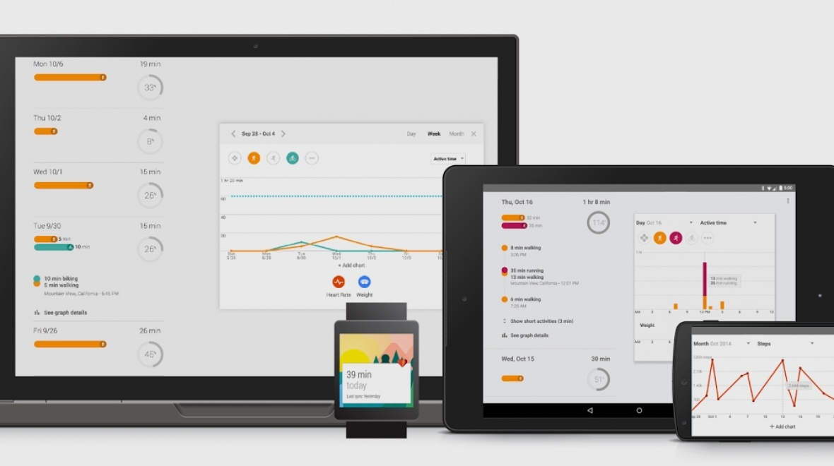 6 Essentials devices that work with Google Fit - AndroidFit