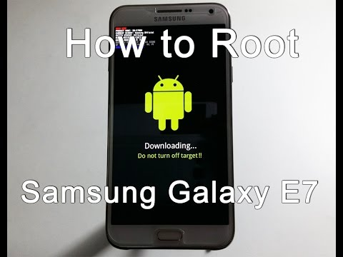 How to Root Samsung Galaxy E7 SM-E700M 5.1.1 Lollipop 4