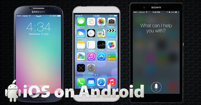 How to install Apple iOS on Android Phone or tablet 1