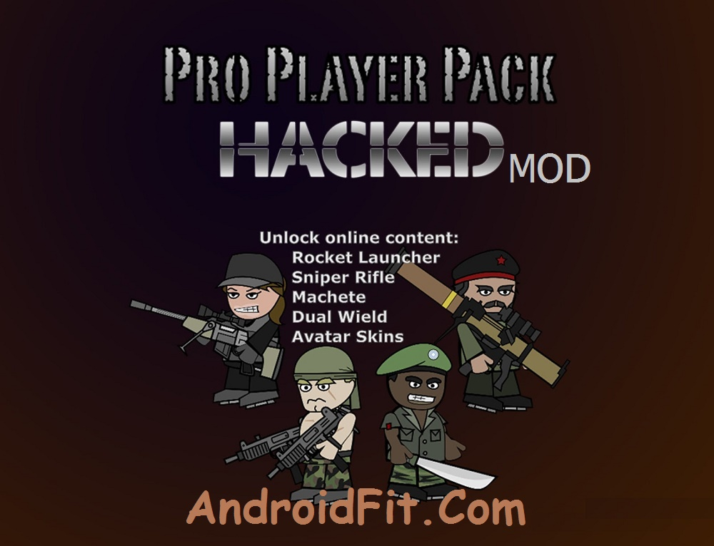 How to Hack Mini Militia Pro Pack In Rooted Android 8