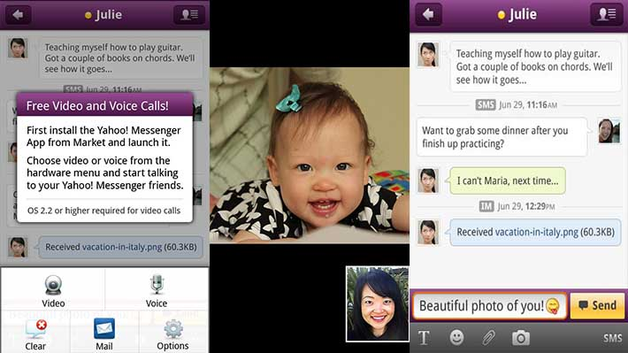 Yahoo-Messenger-screenshot