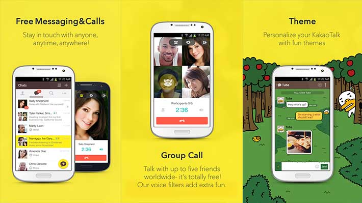 Best Free Calling App for Android - KakaoTalk-screenshot
