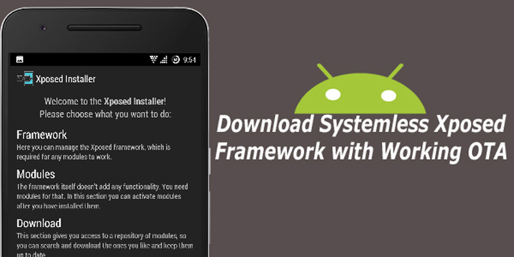 How to Install Systemless Xposed on Android Marshmallow 3