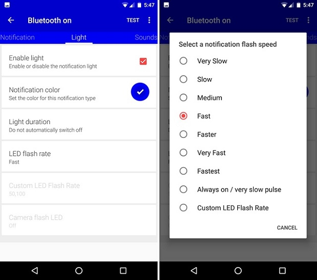 Flight-Flow-app-led-settings