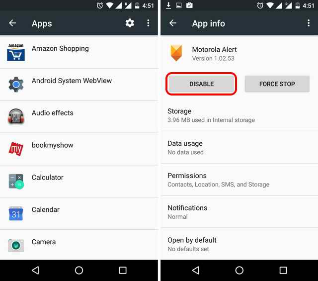 Remove Bloatware from Android Devices