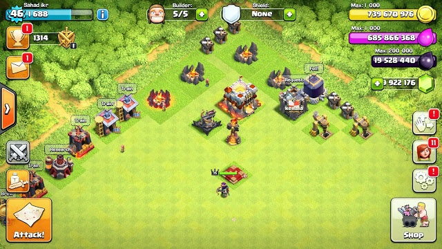 apk unlimited clash of clans