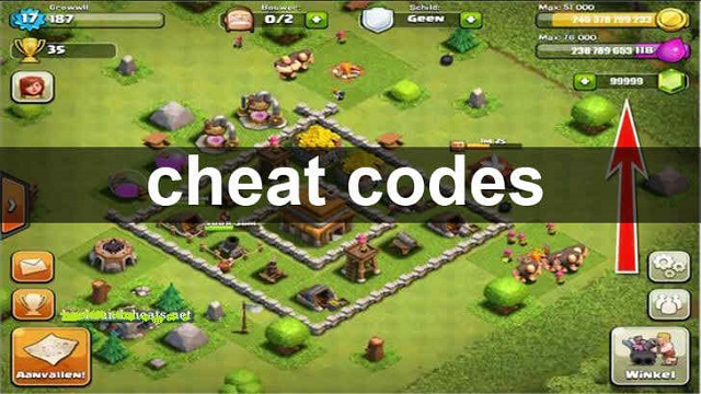 Clash of Clans Cheat codes for hacking CoC gems, gold, elixir 3