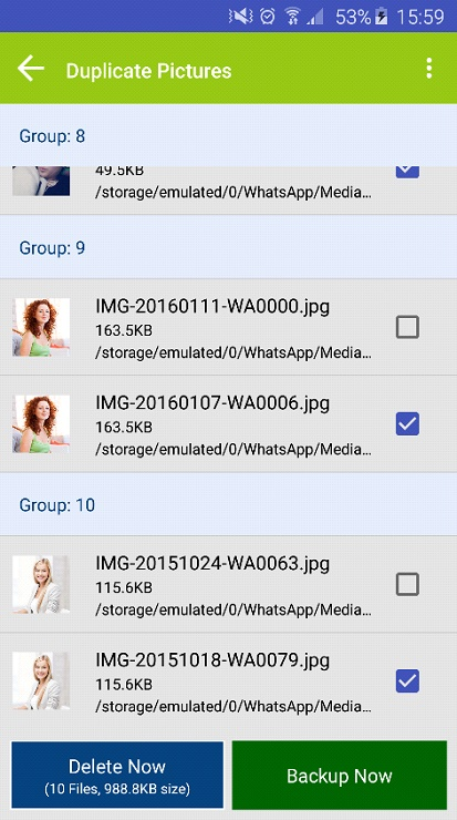 Delete duplicate files with Duplicate Files Fixer 3