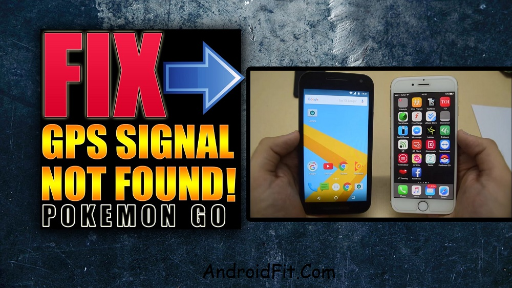 How to Fix GPS Signal Not found error on Pokemon Go (Error on Location Not found) 3