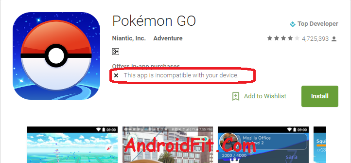 How to Fix Pokemon Go is Incompatible with your device 5