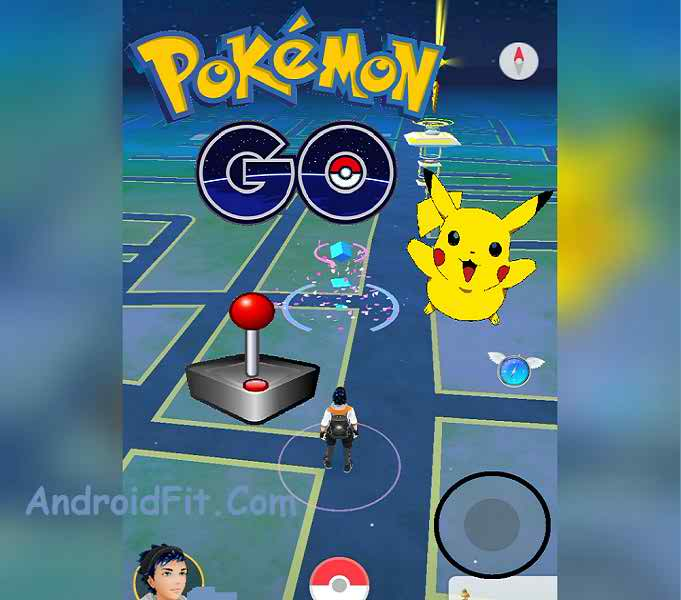 How to Use Pokemon Go Joystick No Root for changing your position 2