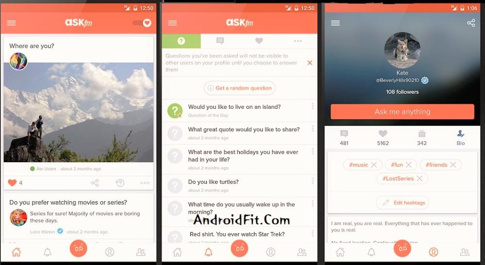 ASKfm APK (Download Ask.fm Apk - Q&A Social Network APK) 3