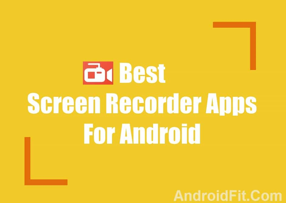 5 Free Best Screen Recorder Apk Download for Android 4