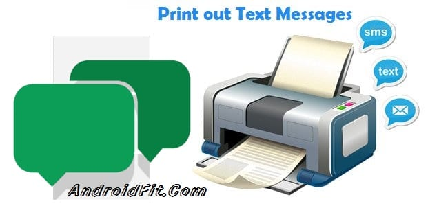 How to Print Text Messages from Android on PC 3
