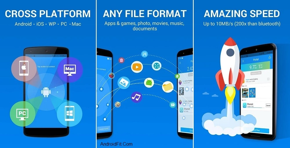 SHAREit APK - to Transferring files from Android to Android