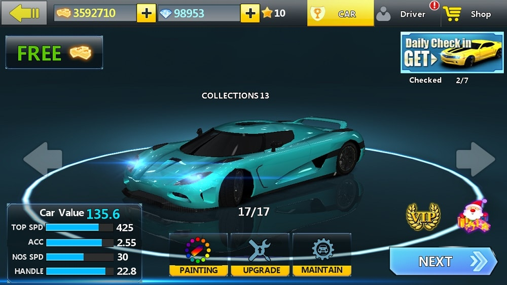 City Racing 3D MoD APK for Unlimited Cash, Diamonds Hack, Cars Unlocked 7