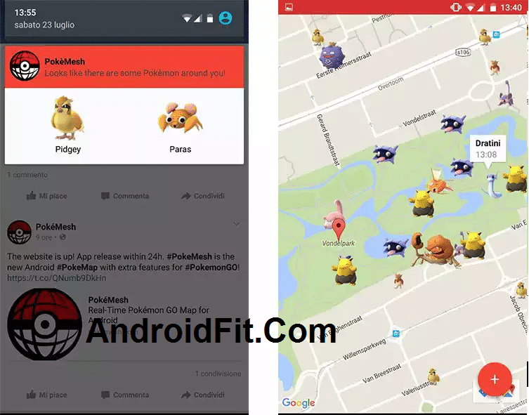 PokeMesh APK 10.2 Apk Download: Improved captcha detection and bug fixes Update 1