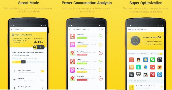 Yellow battery replacement, yellow battery apk, Latest YP download Battery Saving Android App yellow battery app download