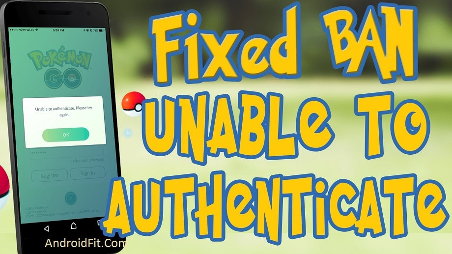 Pokemon Go Problems: Fix Unable To Authenticate Error on Android 2