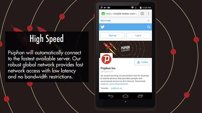Psiphon Apk Download (Psiphon 137 Handler ui) For Android 3
