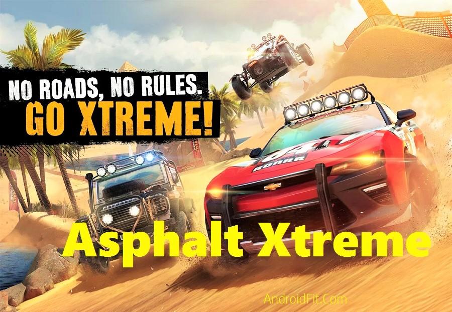 Asphalt Xtreme Apk + Mod + OBB DATA for Android 1