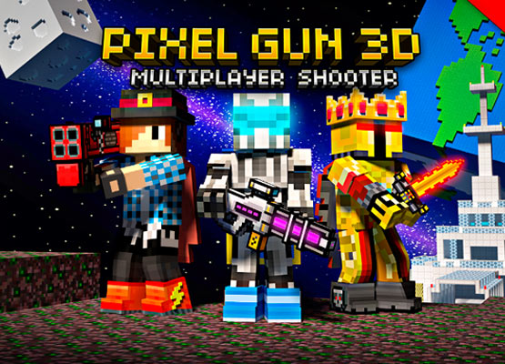 Pixel Gun 3D Mod Apk and Hack Unlimited coins, Weapons 4