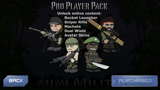 Mini Militia Pro Pack Mod APK (Mini Militia Pro Pack Hack for Non Rooted) 1