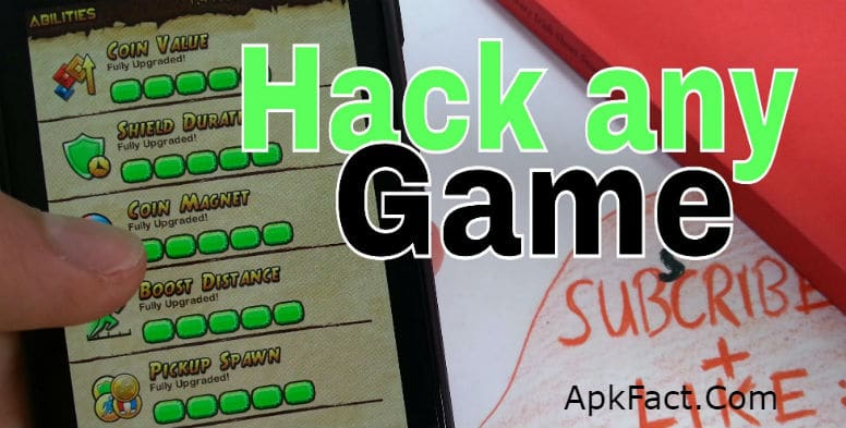 Hack Any Games & Apps On Android